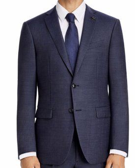 John Varvatos Star USA Twill Solid Slim Fit Suit $358.80