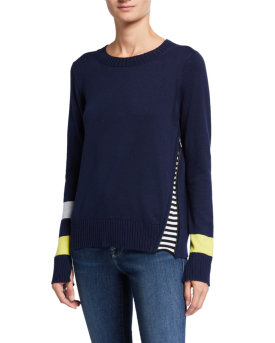 Lisa Todd Sneak Attack Stripe Sweater