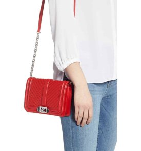 bold red bag