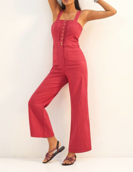 Maeve Colette Cropped Overalls $160