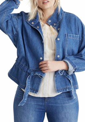 Madewell Denim Southlake Military Jacket $128.00