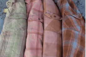 Farmstead Home Vintage Washed Flannel $49