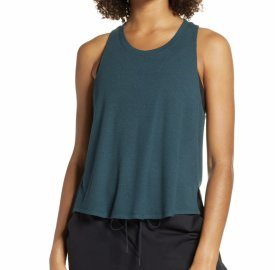 Zella Splits Ribbed Tank $39.00