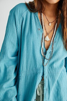 Free People Summer Daydream Button-down $108