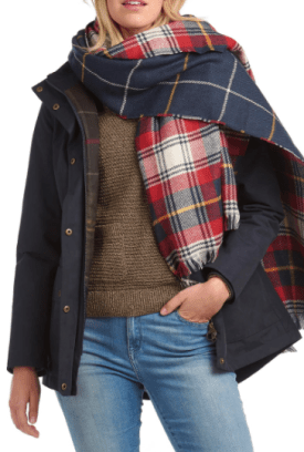 Barbour Reversible Check Scarf $70