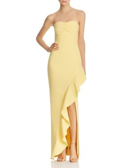 Hollywood styled strapless gown