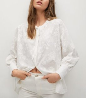 Embroidered blouse $79.99