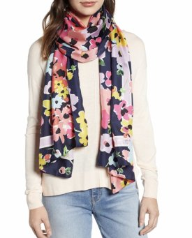 Kate Spade New York Wild Bouquet Silk Scarf $148.00