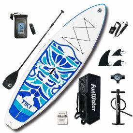FunWater Inflatable 10'6×33″×6″ Ultra-Light (17.6lbs) SUP
