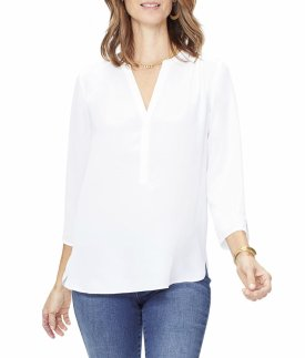 Curves 360 By NYDJ Perfect Blouse $89.00