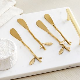 Botanical Cheese Spreaders $39.50