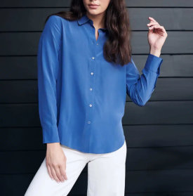 Washable Stretch Silk Blouse $59.90