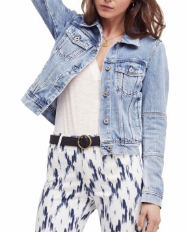 Free People Rumors Denim Jacket $98.00