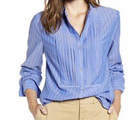 Alex Mill Stripe Tux Shirt $125.00