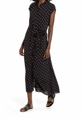 Billabong Little Flirt Print Midi Dress $69.95
