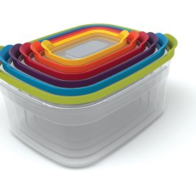 Nested Food Storage Containers Set