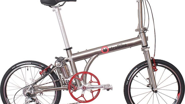 Seattle Cycles' Metro Bike Electric Folding Bike