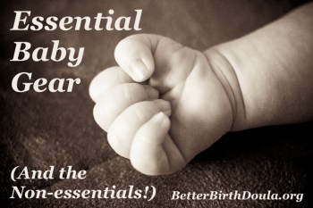 Essential Baby Gear Newborns