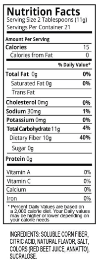 Orange Water Enahncer Nutrition