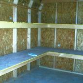 12x10x10 6'sidewalls Inside