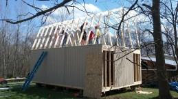 16x24 8'sidewalls barn