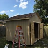 10x10x10 7'sidewalls Barn House