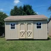 12x16x12 7'sidewalls Barn House