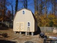 16x20 8'sidewalls Barn