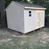 10x12x10 7'sidewalls Barn House