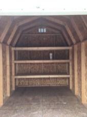 8x12x10 6'sidewalls Inside