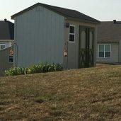8x12x10 7'sidewalls Barn House