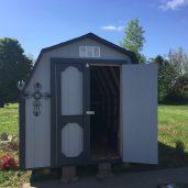 8x12x8 4'sidewalls Barn #3