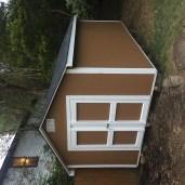 10x16x9 6'sidewalls Barn House