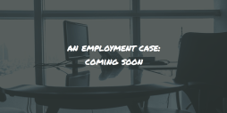 An employment case