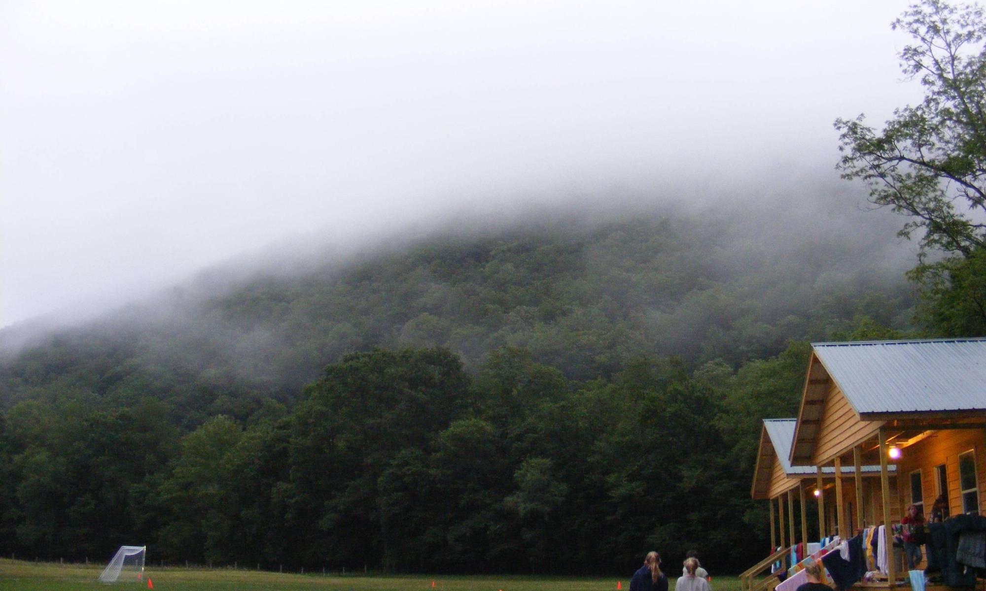 camp hidden meadows beatiful scenery