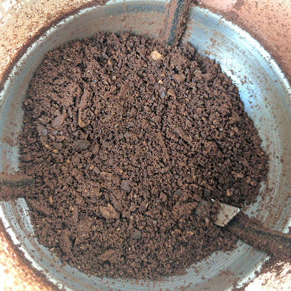 Terrible Blade Coffee Grinder Results