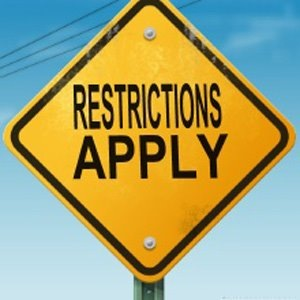HOAs are known for their restrictions.