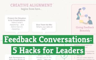 Feedback Conversations: 5 Hacks for Leaders