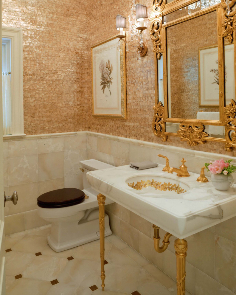 david phillips traditional-powder-room