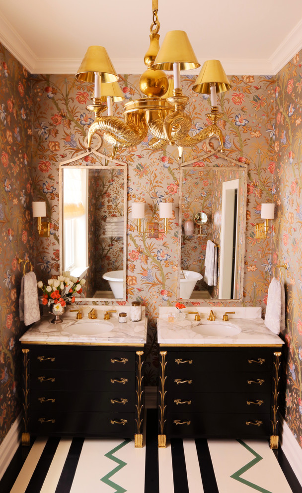 summer thornton design eclectic-bathroom