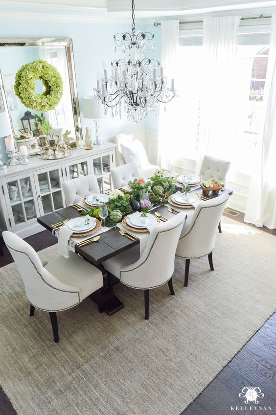 Sage Dining Room Table And Chairs