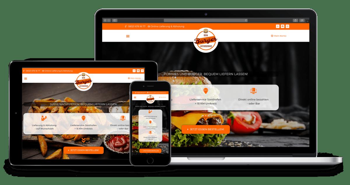 Lieferando Alternative - Bestellsystem für Lieferdienst - online Bestellsystem für Restaurants