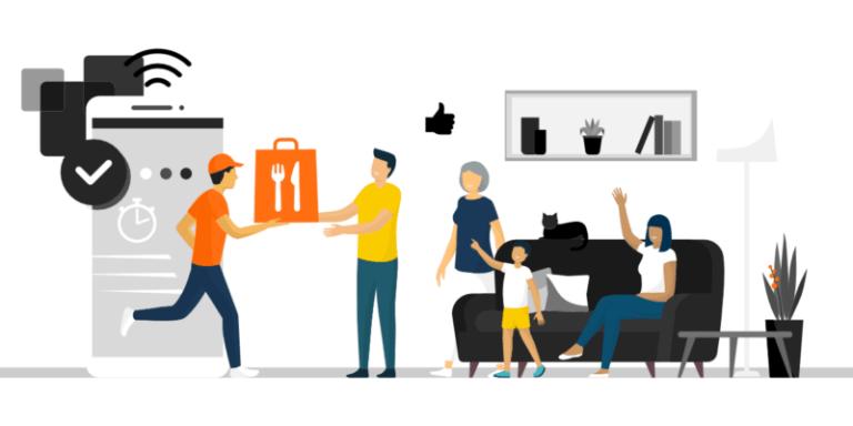 Lieferando Alternative - Liefersystem für Restaurants Bestellsystem für Lieferdienste