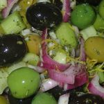Italian Marinated Olives