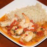 Garlic Shrimp in Coconut Milk