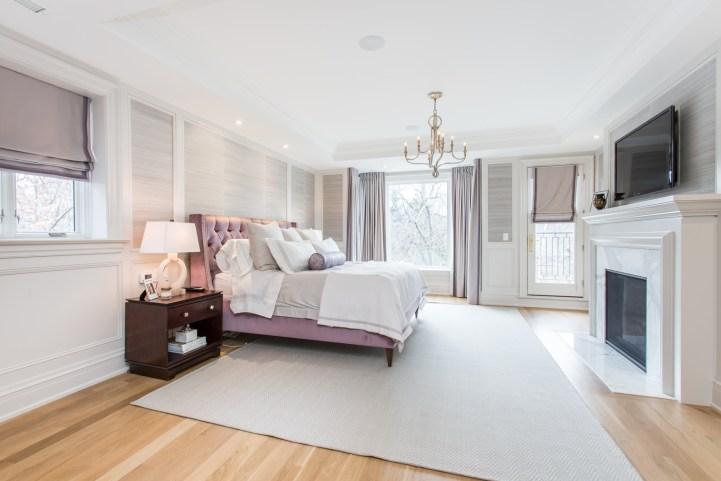 181 Crescent Road - Master Bedroom Towards Window