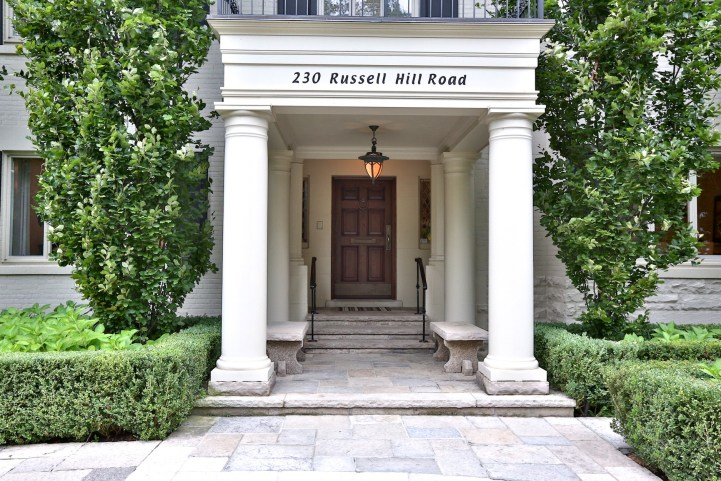 230 Russel Hill Rd - Portico