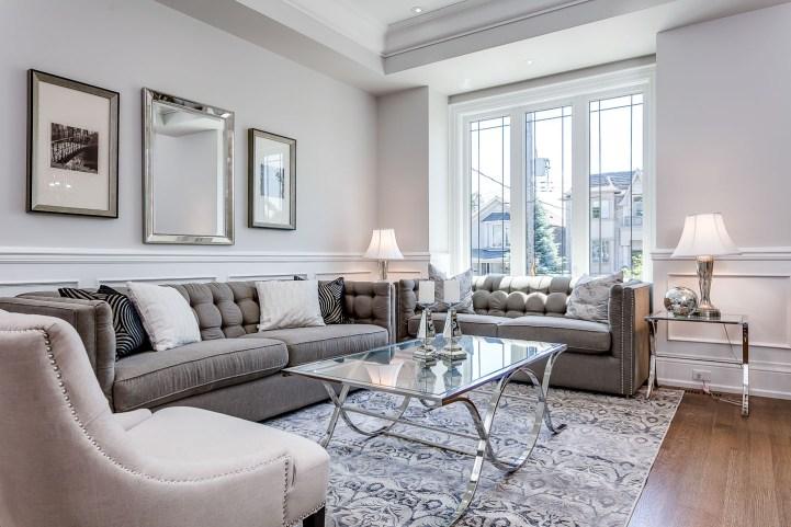 390 Brookdale Avenue - Living Room Facing Window