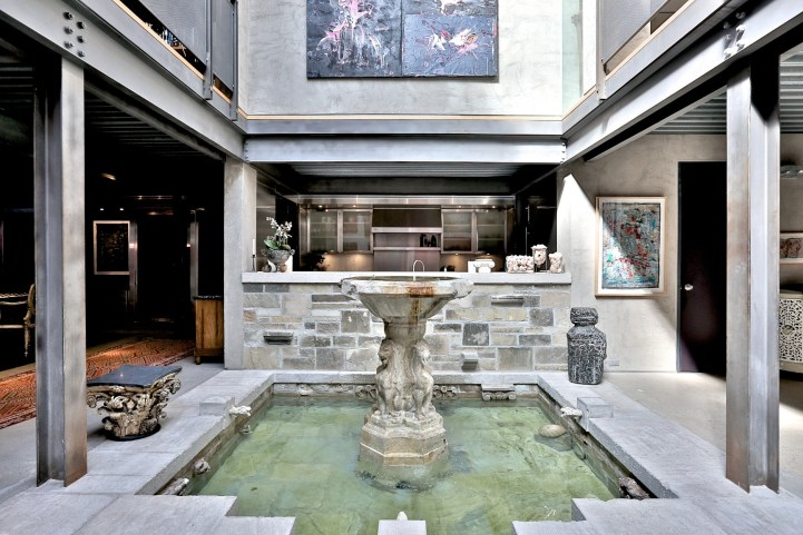 176 Bedford Road - Great Room Water Feature