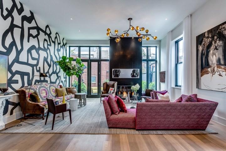 314 Palmerston Blvd - Living Room